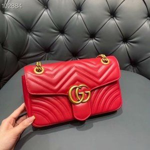 GUCCI GG Marmont Gmall Matelassé Red Bag niket